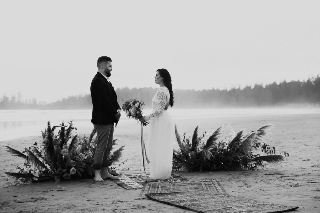 Eloping in Tofino.